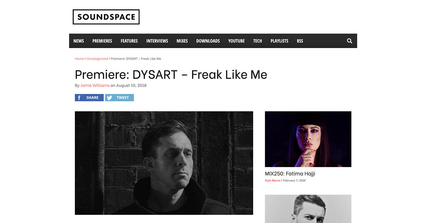 Soundspace – Premiere