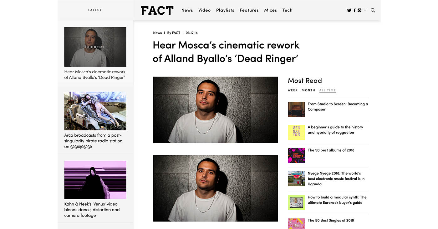 FACT Mag – Premiere