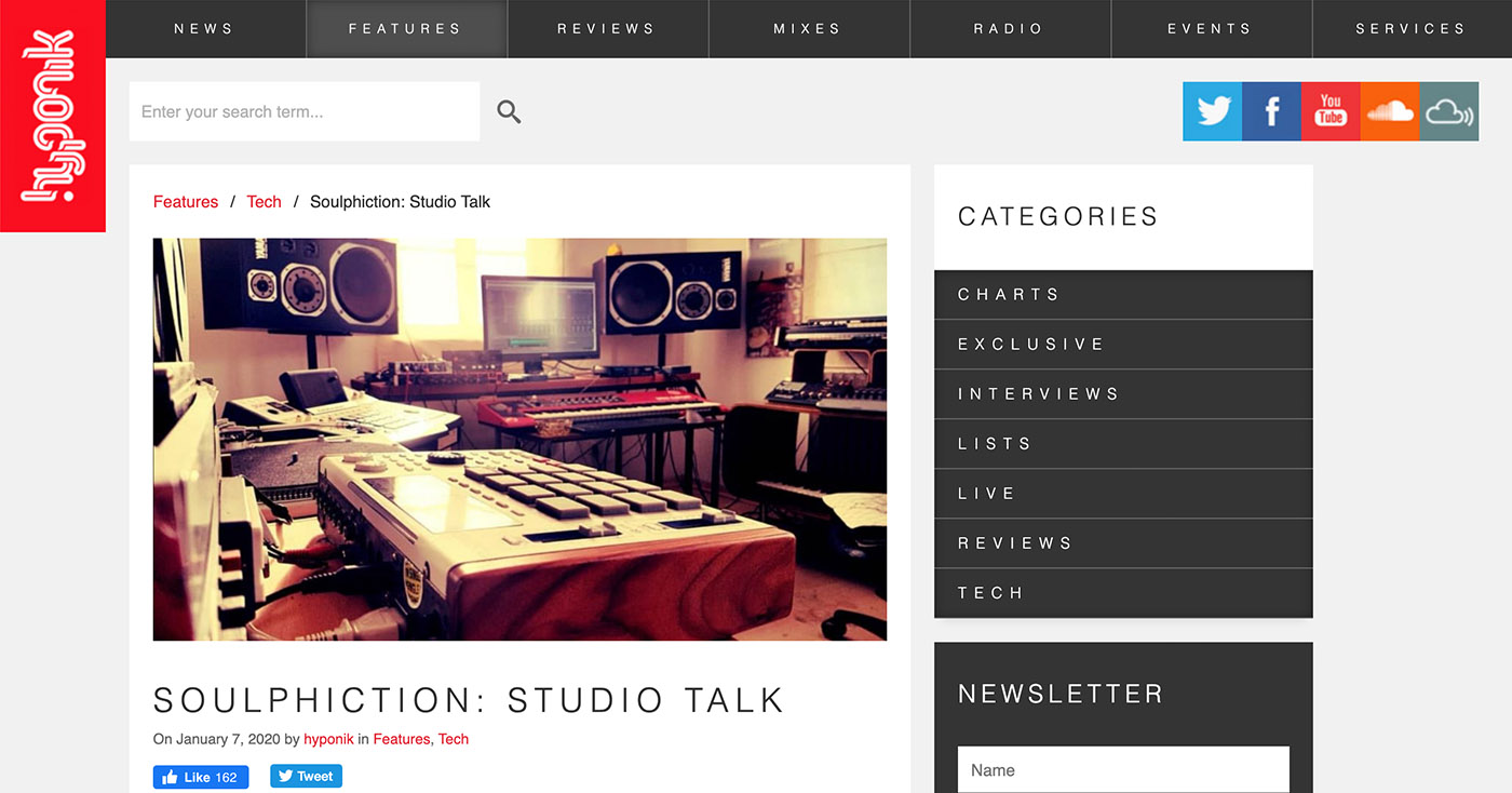 Hyponik – Studio Feature