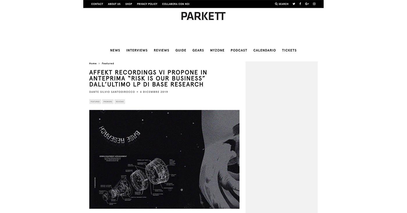 Parkett – Premiere