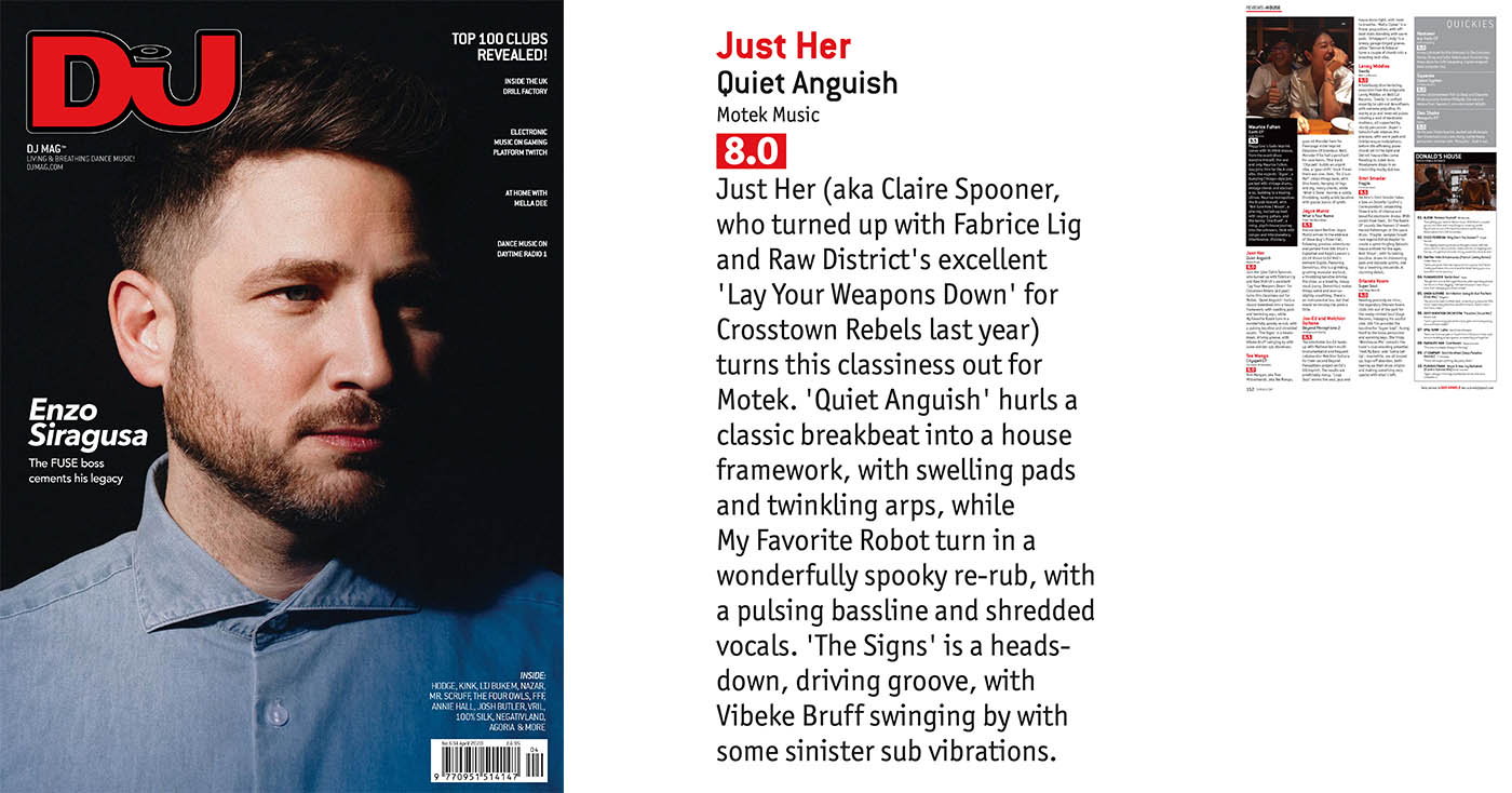 DJ Mag UK – Print Review