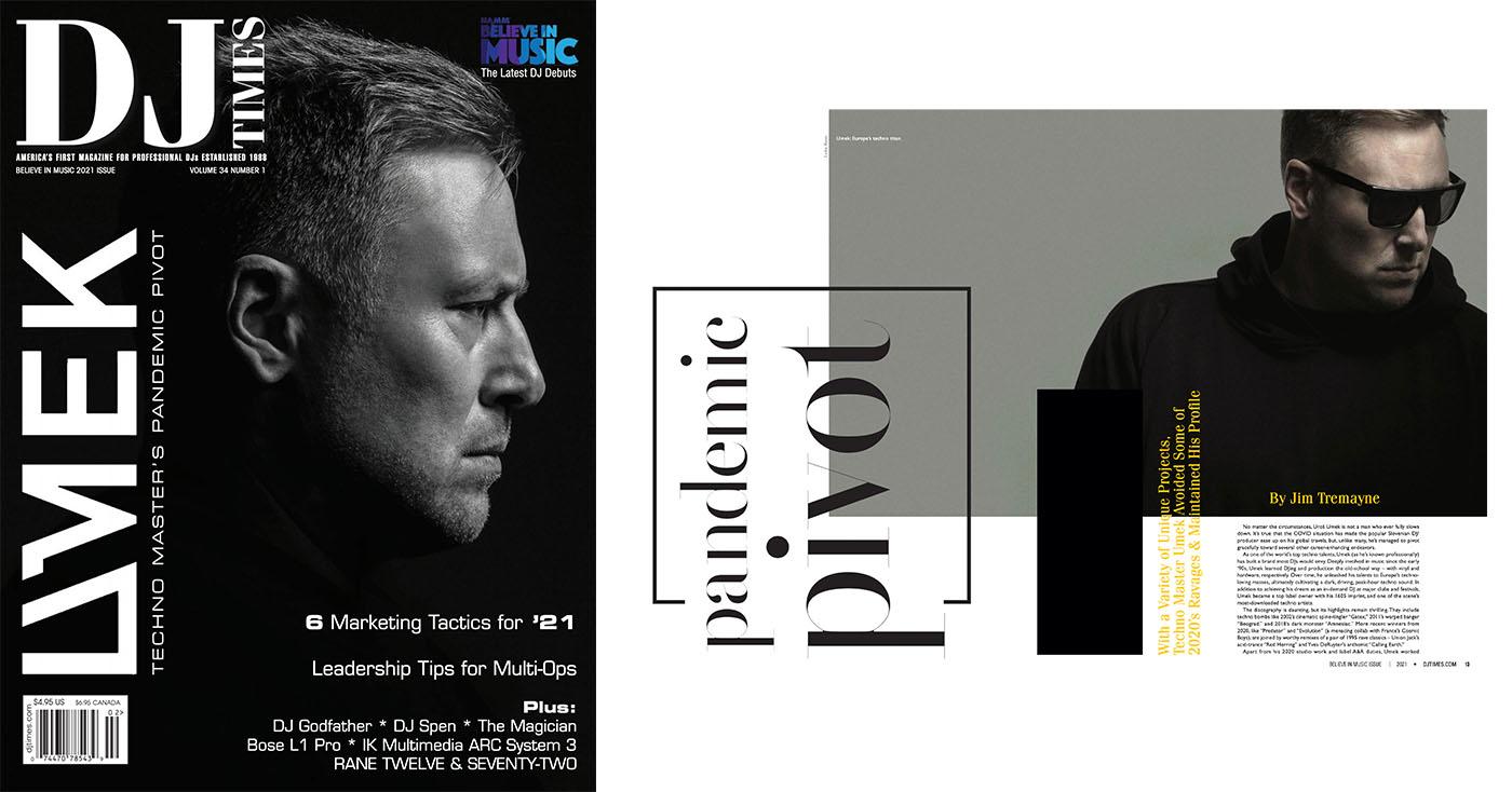 DJ Times – Print Feature